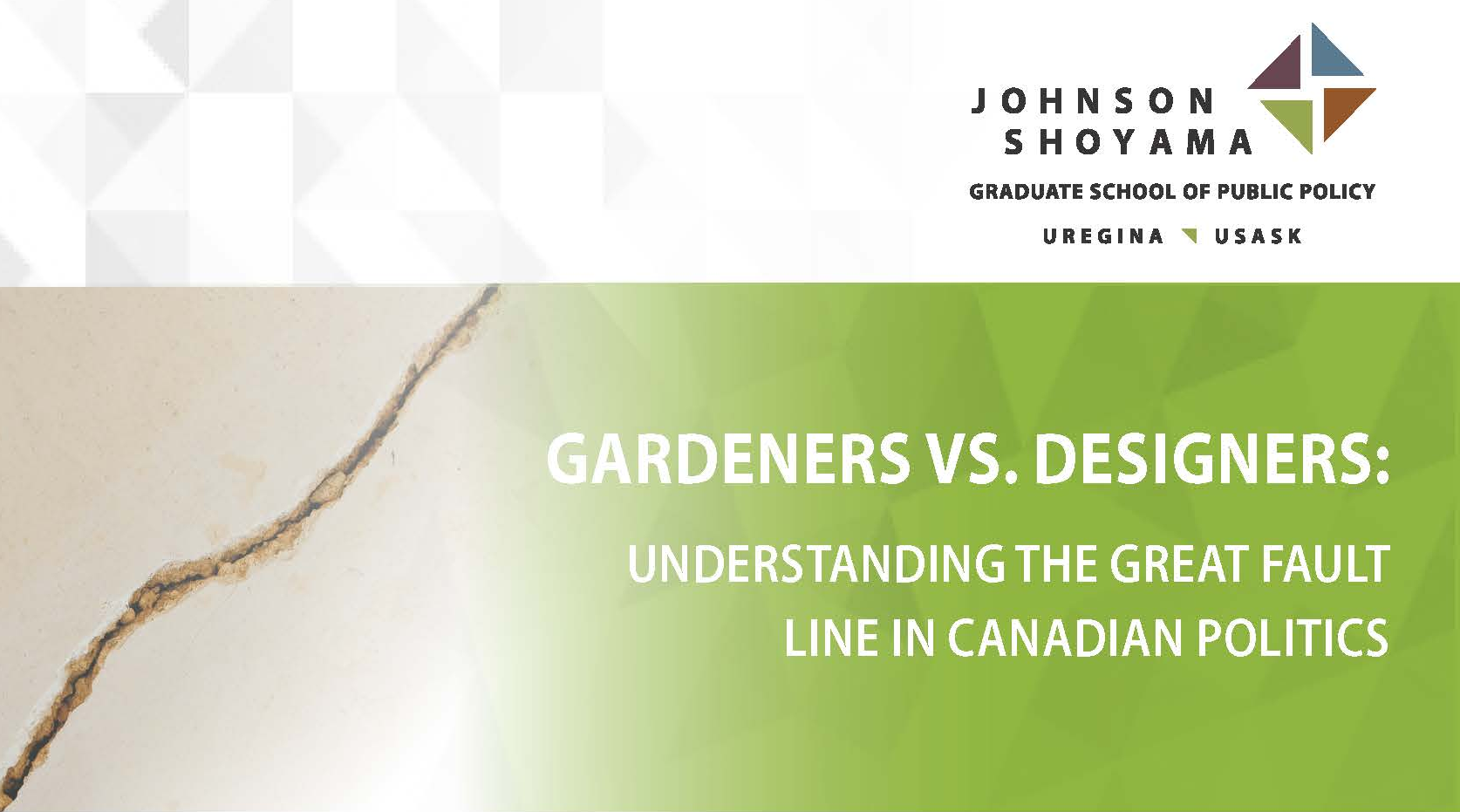 JSGS Public Lecture – Gardeners vs. Designers: Understanding the Great Fault Line in Canadian Politics